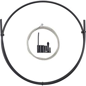 capgo BL Set de câbles de dérailleur 1x pour Shimano/Sram Front & ATB/Road, black